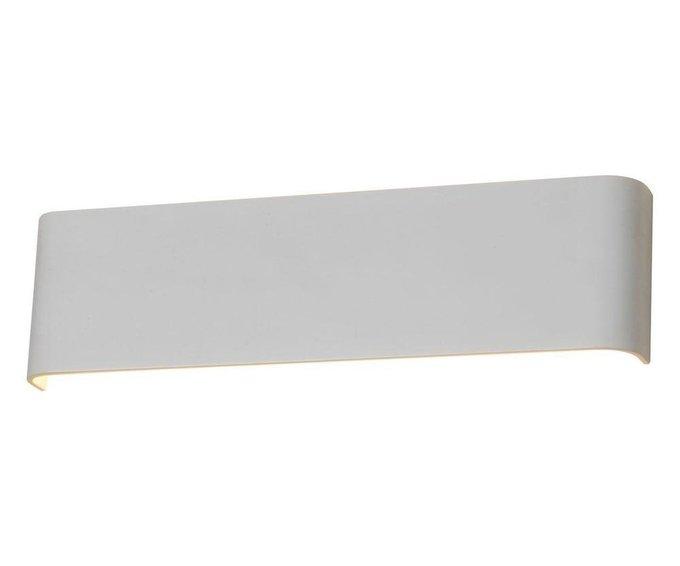 Настенный светодиодный светильник Трапеция белого цвета