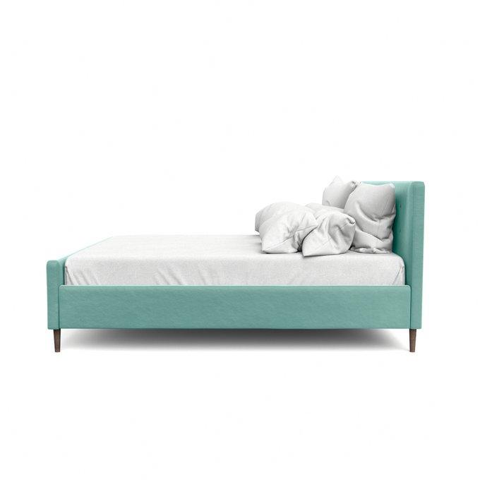 Двухспальная кровать Кристина бирюзового цвета 180х200