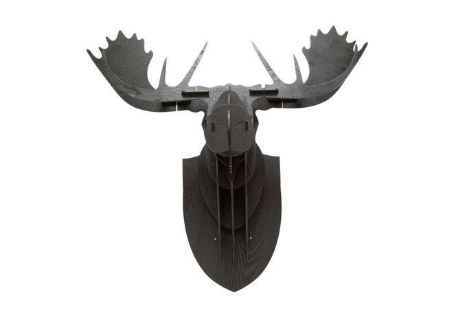Декоративная голова лося Huge Black