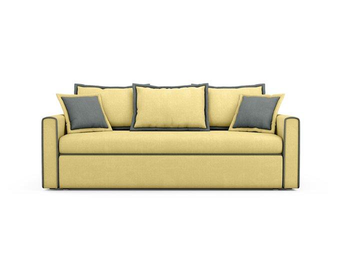 Диван-кровать Franz желтого цвета