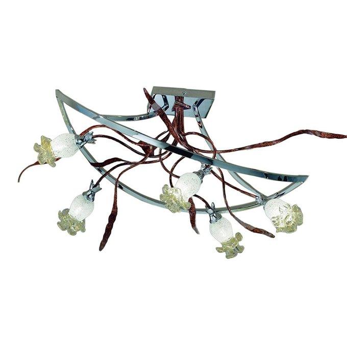 Потолочный светильник MM Lampadari из кованного металла с оригинальным дизайном