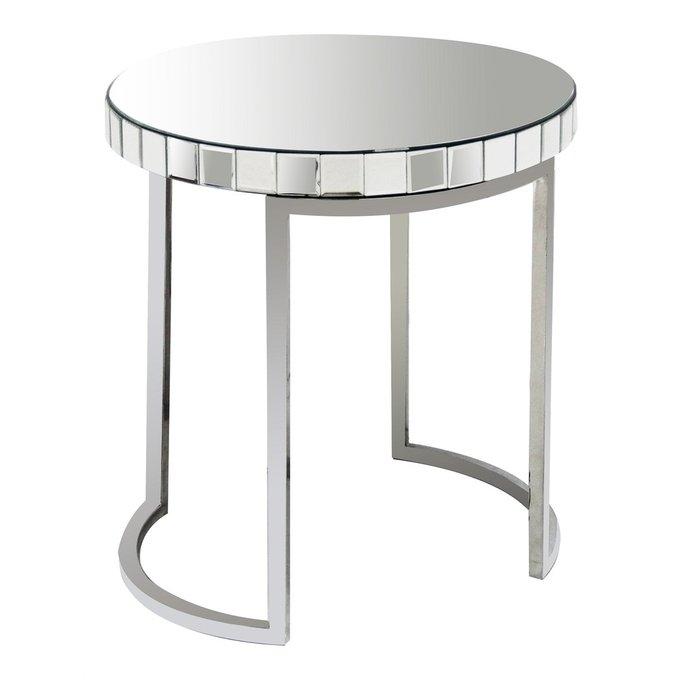 Кофейный столик Soltanto с зеркальной столешницей