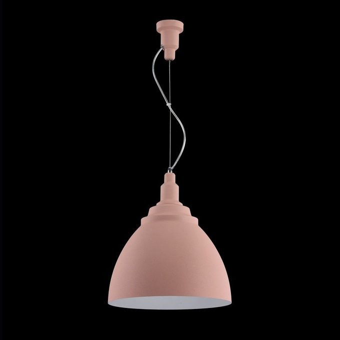 Подвесной светильник Bellevue розово цвета