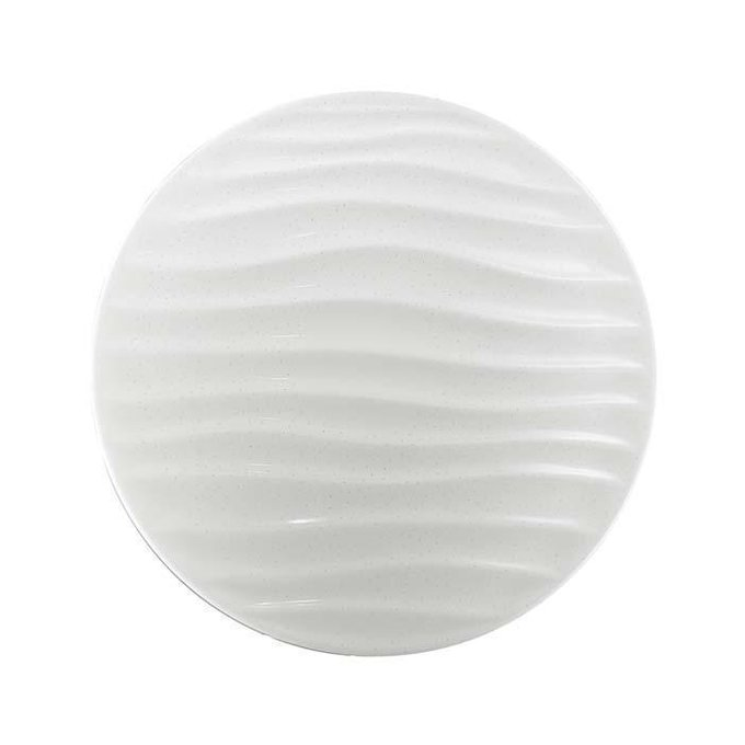 Настенно-потолочный светодиодный светильник Sonex Wave белого цвета