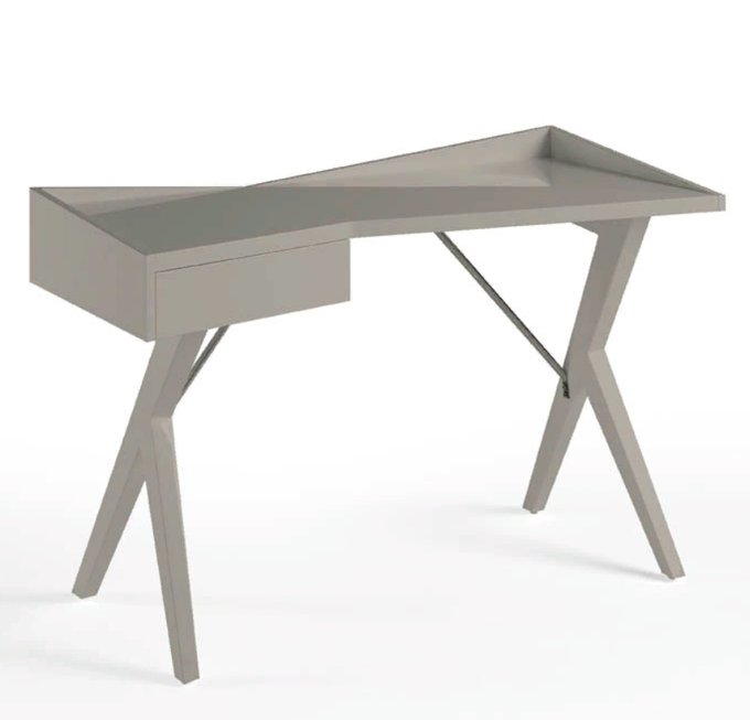 Письменный стол Comodidad vison серого цвета