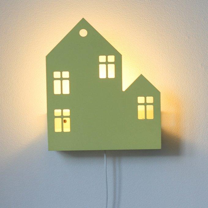 Светильник-домик Lyon белого цвета