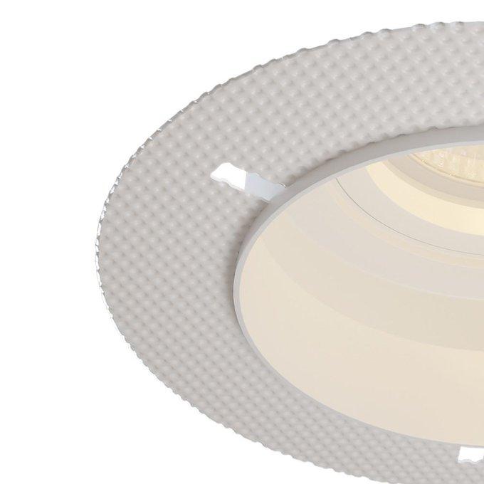Встраиваемый светильник Hoop белого цвета