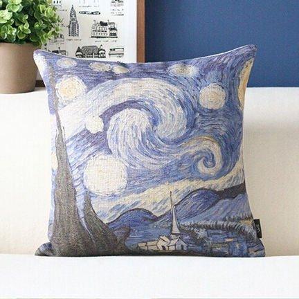 Чехол для подушки Ван Гог