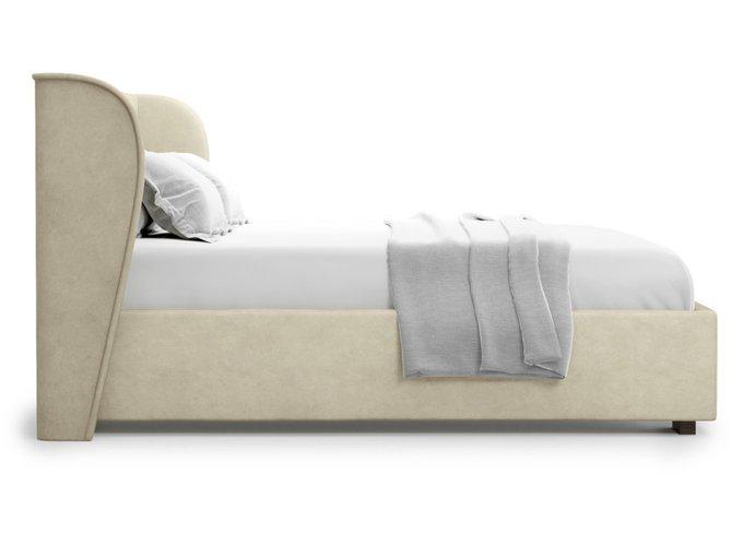 Кровать Tenno 160х200 бежевого цвета с подъемным механизмом