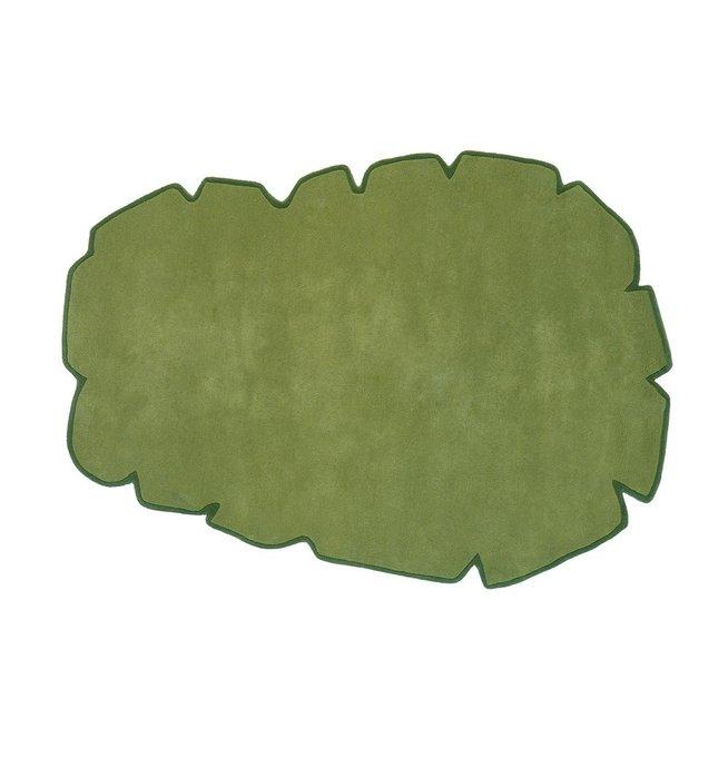 Ковер Cloud зеленого цвета 200х300