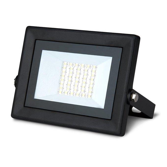 Прожектор светодиодный Qplus из металла и стекла