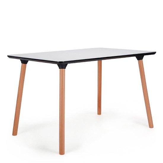 Обеденный стол Valencia на ножках из массива бука