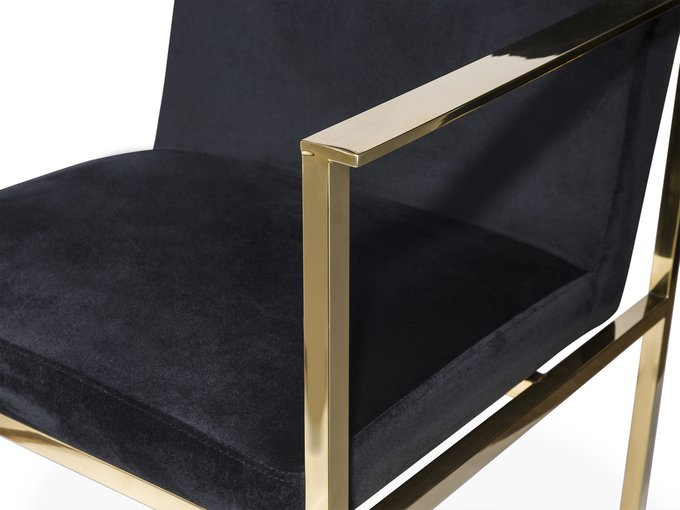 Кресло Jett черного цвета