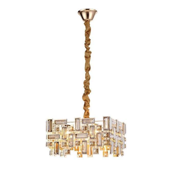 Подвесной светильник Tesoruccio с плафоном из хрусталя