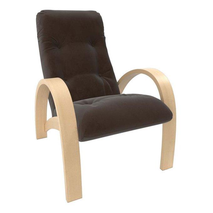 Кресло для отдыха Модель S7 с обивкой Verona_Brown