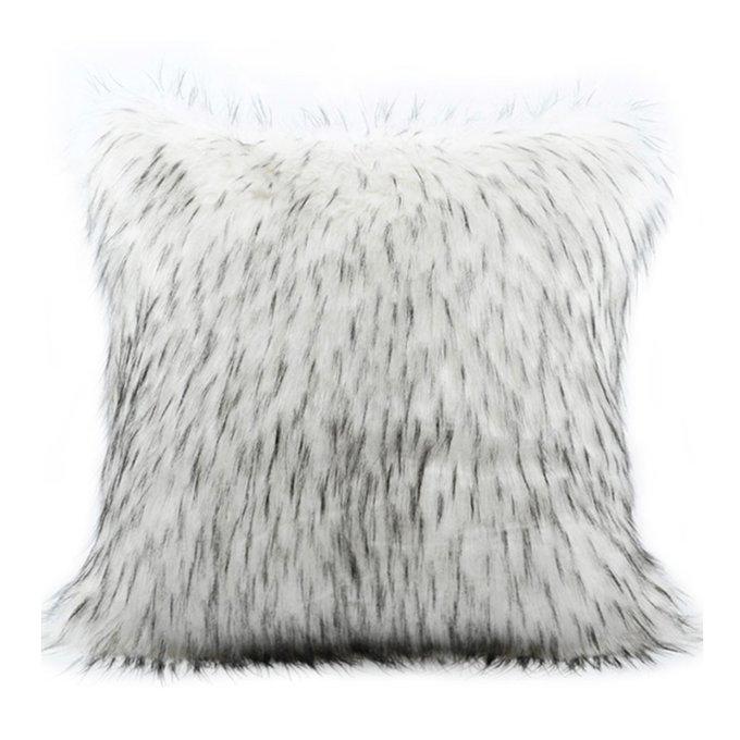 Декоративная подушка Polar из искусственного меха