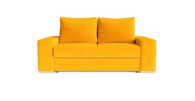 Диван-кровать Матиас желтого цвета