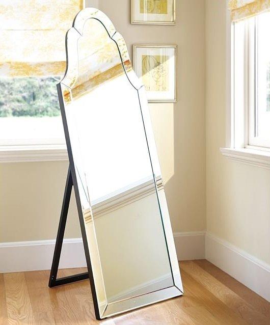 Напольное зеркало Aurora с основанием из МДФ