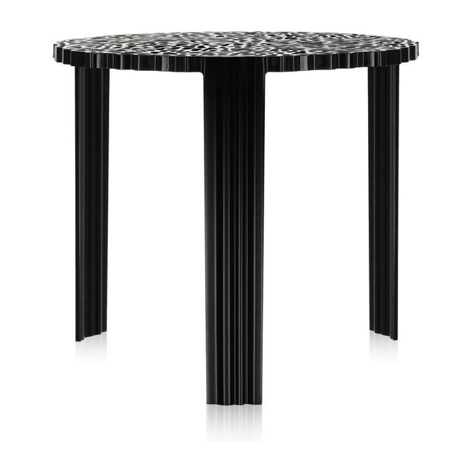 Столик журнальный T-Table черного цвета
