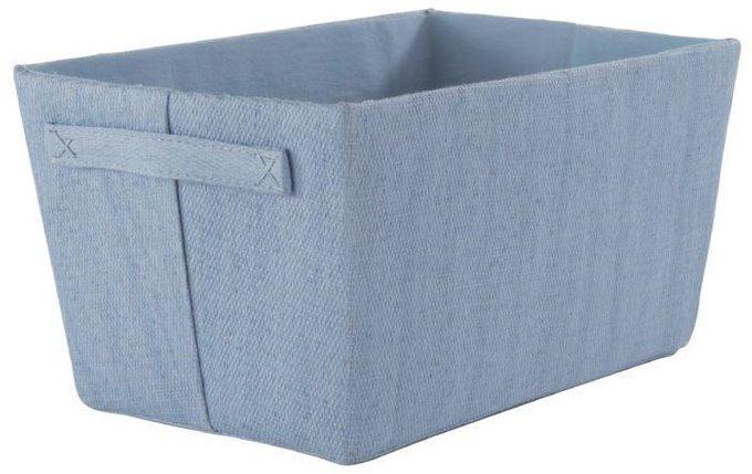 Плетеная корзина Keeper голубого цвета