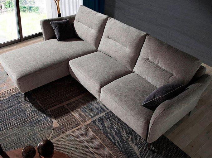Угловой диван с шезлонгом