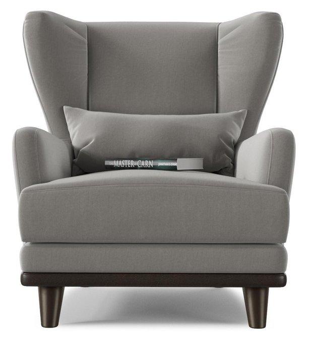 Кресло Роберт Людвиг дизайн 3 серого цвета