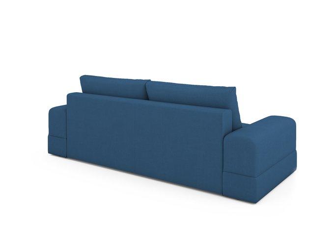 Диван-кровать Elke синего цвета