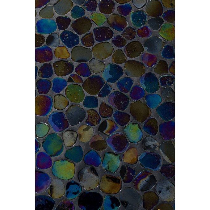 Столик приставной Pebbles черного цвета