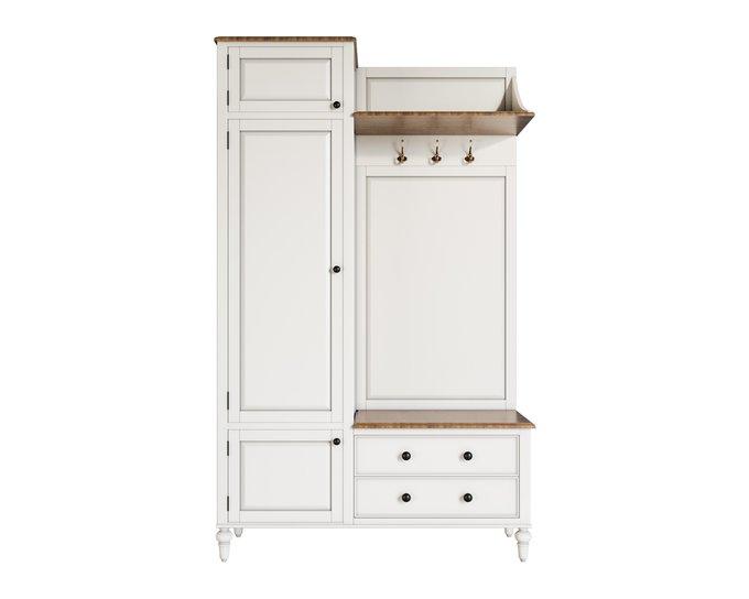 Прихожая-шкаф Odri из массива березы и ясеня