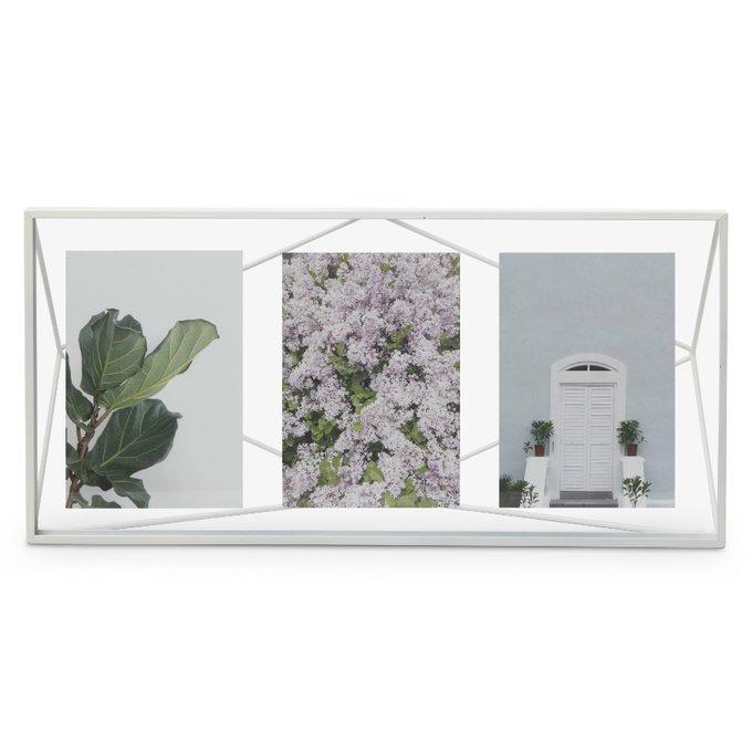 Мультирамка Prisma белого ццвета