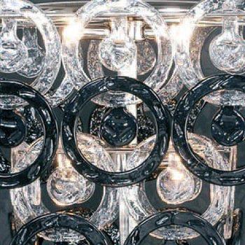 """Настольная лампа Jago """"Anelli"""" из муранского стекла"""