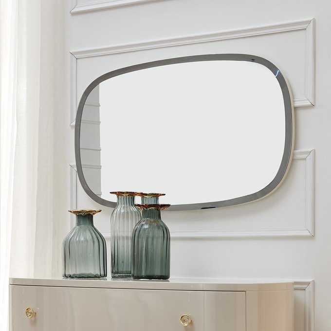 Зеркало FRATELLI BARRI ROMA бежевый лак