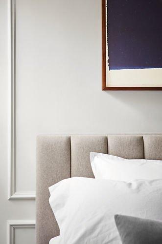 Кровать Клэр 140х200 серо-бежевого цвета с подъемным механизмом