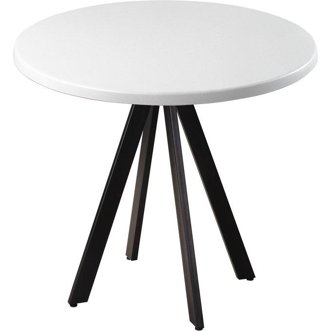 Обеденный стол Арки белого цвета