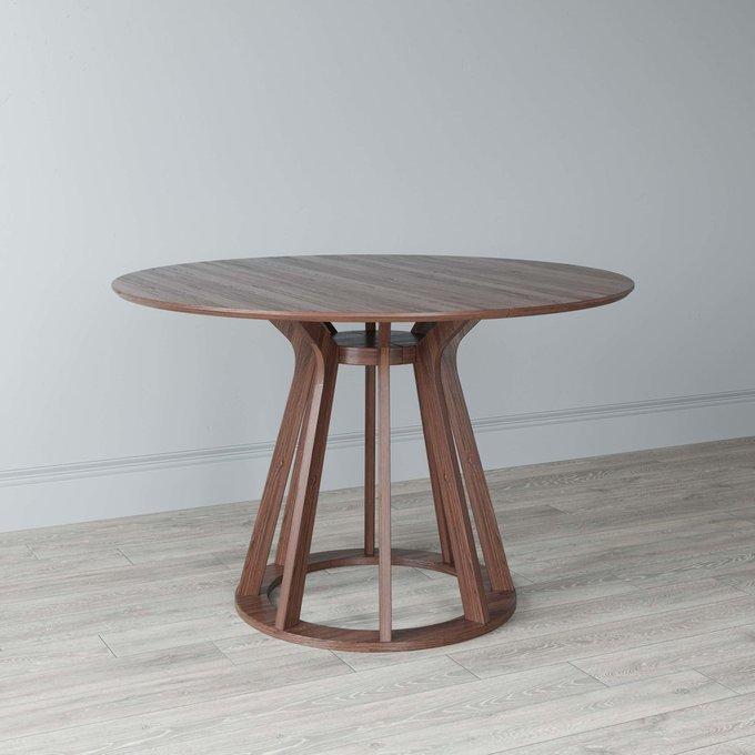 Стол обеденный раскладной Elegance Transform цвета темный орех