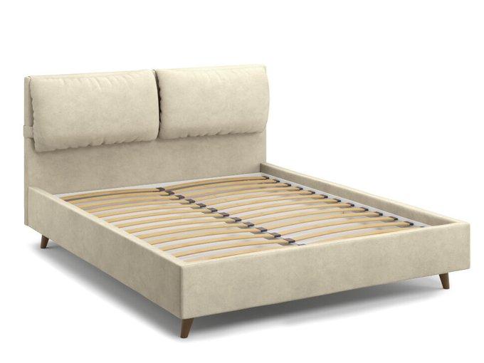 Кровать Trazimeno 180х200 бежевого цвета