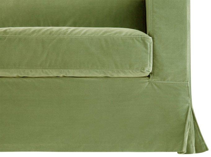 Диван Poly Green зеленого цвета