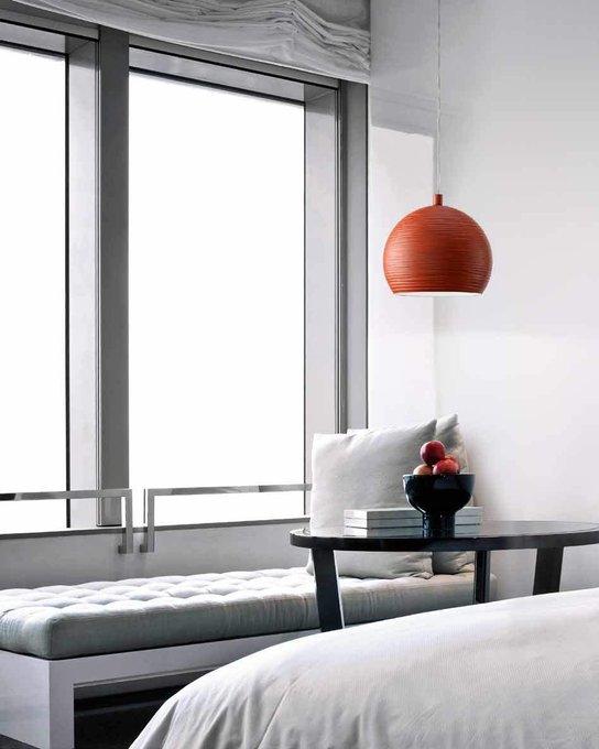 Подвесной светильник MM Lampadari с металлическим плафоном стального цвета