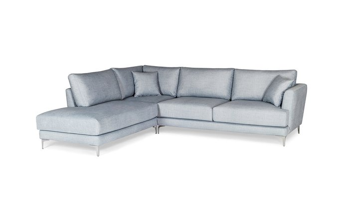Угловой диван Andango голубого цвета