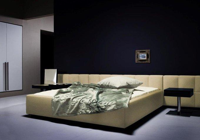 Кровать Ohen Grande Светло-бежевая 180х200