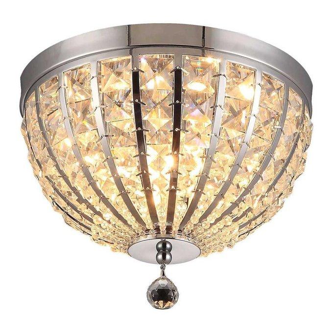 Потолочный светильник Jennifer с плафоном из хрусталя