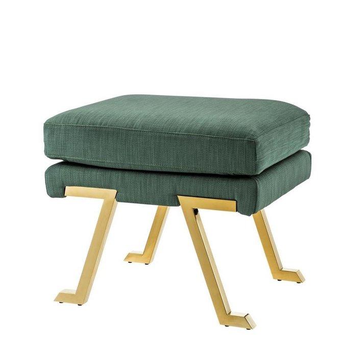 Пуф Savoy зеленого цвета