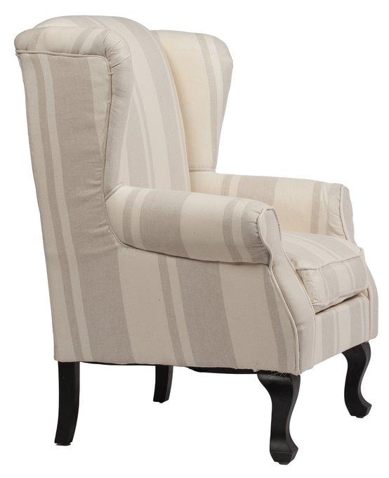 Кресло Alberto бежевого цвета