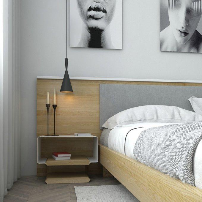 Комплект для спальни bragindesign TESLA-B мягкий 180Х200