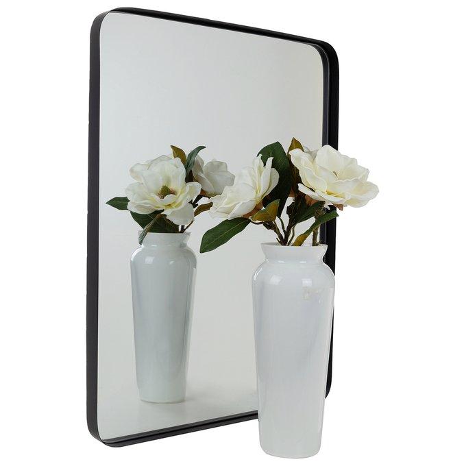 Зеркало настенное Брюгге блэк черного цвета
