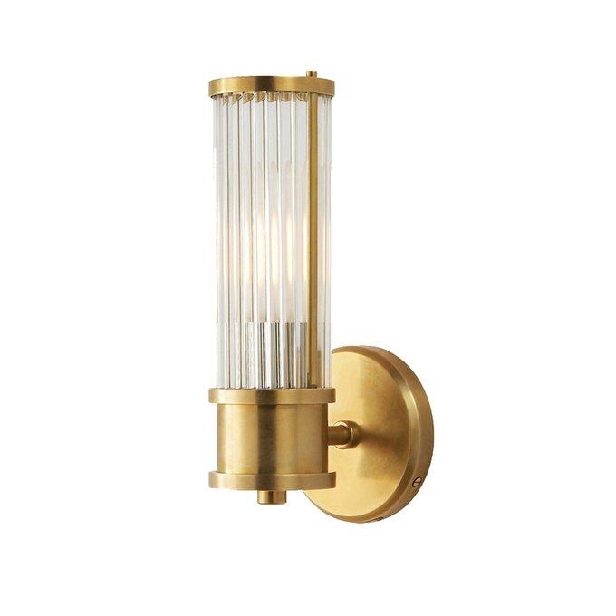 Настенный светильник Allen brass из стеклянных трубочек