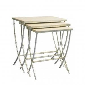 Столик FINCH BAMBOO NESTING TABLE