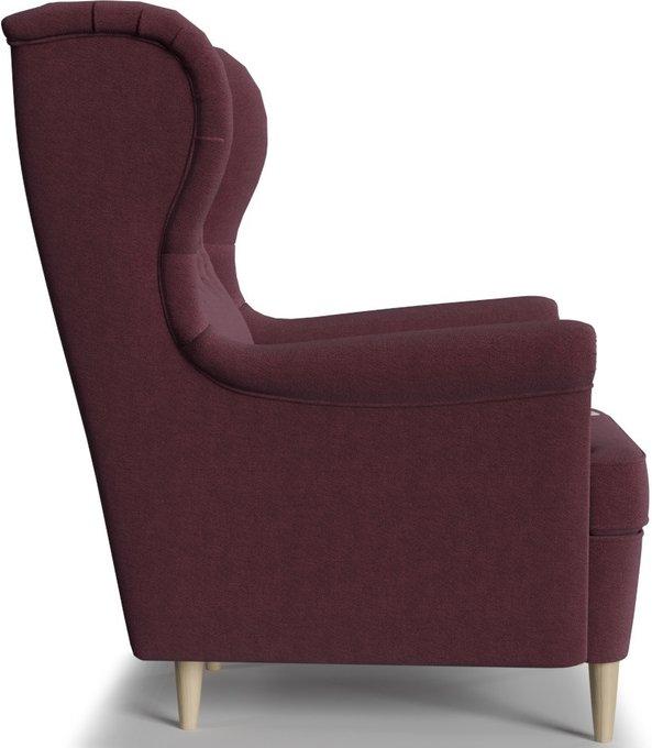 Кресло Торн Porshe Bordo бордово-фиолетового цвета