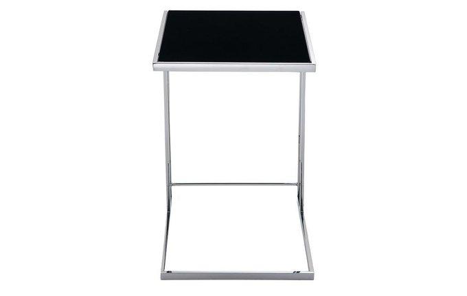 Кофейный столик с черной столешницей