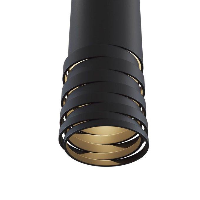 Подвесной светильник Kinzo черного цвета